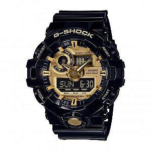 Relógio Unissex Casio G-Shock GA710GB-1A Preto