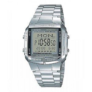 Relógio Unissex Casio Data-Bank DB-360-1A Prata