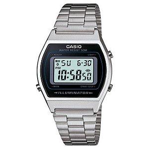 Relógio Unissex Casio Vintage B640wd-1avdf Prata