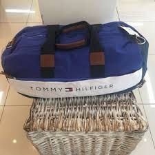 Bolsa Tommy Hilfiger Viagem Grande (Azul)