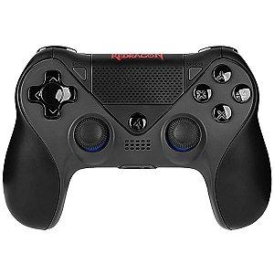 Controle Sem Fio Redragon Jupiter G809 para PlayStation 4 e Nintendo Switch Preto
