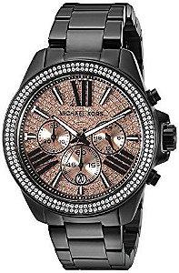 Relógio Feminino Michael Kors MK5879 Preto Cravejado