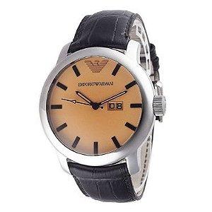 Relógio Masculino Emporio Armani AR0429 Couro