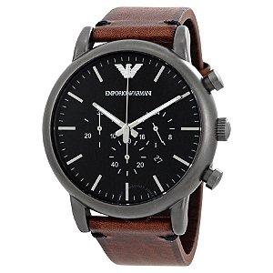 Relógio Masculino Emporio Armani AR1919 Couro