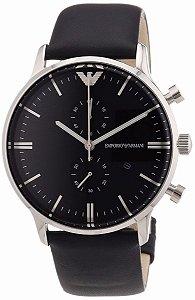 Relógio Masculino Emporio Armani AR0397 Preto