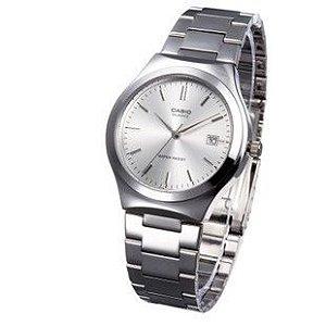 Relógio Unissex Casio Modelo MTP-1170A-7ARDF Prata