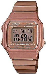 Relógio Feminino Casio Vintage Modelo B650WC-5ADF Rose