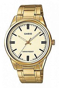 Relógio Unissex Casio Modelo MTP-V005G-9AUDF Dourado