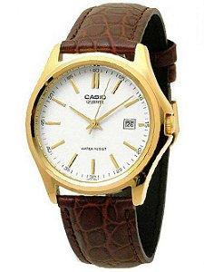 Relógio Unissex Casio Modelo MTP-1183Q-7ADF Couro