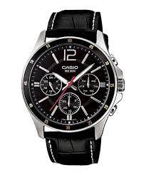 Relógio Masculino Casio Modelo MTP-1374L-1AVDF Preto
