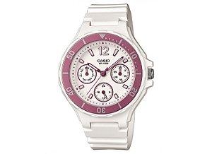 Relógio Feminino Casio Modelo LRW-250H-4AVDF Branco