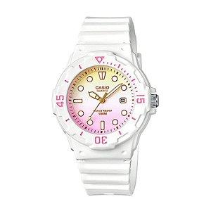 Relógio Feminino Casio Modelo LRW-200H-4E2VDF Branco