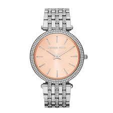 Relógio Feminino Michael Kors MK3218 Prata Cravejado