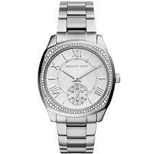Relógio Feminino Michael Kors MK6133 Prata Cravejado