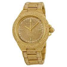 Relógio Feminino Michael Kors Mk5720 Dourado Cravejado