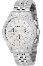 Relógio Feminino Michael Kors MK5018 Prata Cravejado
