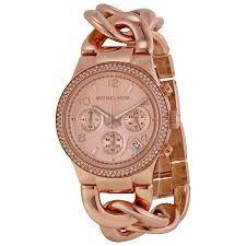 Relógio Feminino Michael Kors MK3247 Ouro Rose
