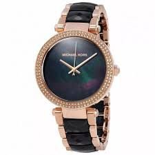 Relógio Feminino Michael Kors MK6414 Preto Rose