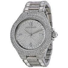 Relógio Feminino Michael Kors Mk5869 Prata Cravejado