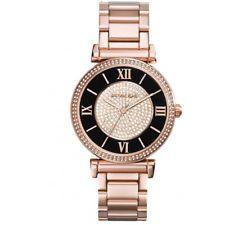 Relógio Feminino Michael Kors MK3356 Ladies Ouro Rose