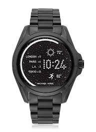 Relógio Feminino Michael Kors MKT5005 Digital Acces Touch Preto
