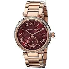 Relógio Feminino Michael Kors MK6086 Dourado Cravejado