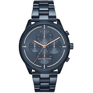 Relógio Feminino Michael Kors MK6522 Azul Slater