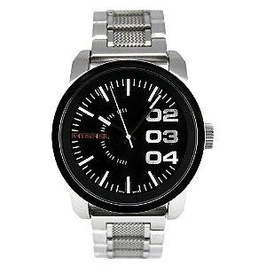Relógio Masculino Diesel DZ1370 Prata Fundo Preto