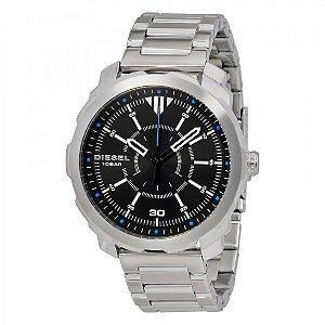 Relógio Masculino Diesel DZ1786 Prata Fundo Preto