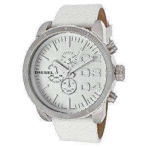 Relógio Masculino Diesel DZ4240 Couro Branco