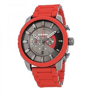 Relógio Masculino Diesel DZ4384 Pulseira de Aço com Borracha