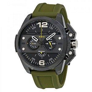 Relógio Masculino  Diesel DZ4391 Pulseira Borracha Verde