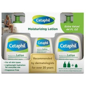 Kit Cetaphil Moisture Lotion (2 591ML + 118ML)