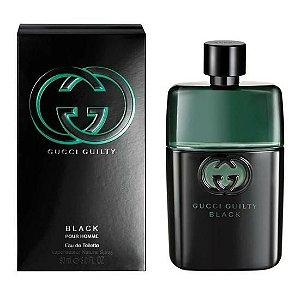 Perfume Masculino Gucci Guilty Black Pour Homme Eau de Toilette