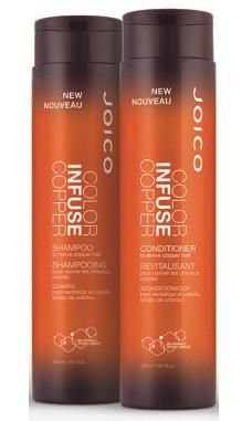 Kit Joico Shampoo e Condicionador Duo Color Infuse Copper 300ml