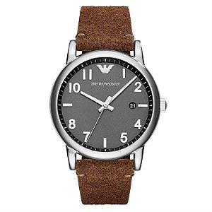 Relógio Masculino Empório Armani AR11070 Couro Marrom