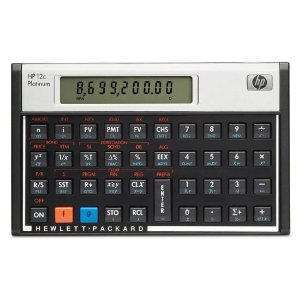 Calculadora HP 12C Platinum Portugues