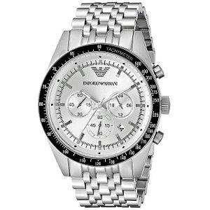 Relógio masculino Empório Armani AR6073 Prata