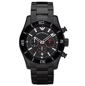0829c62d10d Relógio Masculino Emporio Armani Sportivo AR5905 Preto - Mimports ...