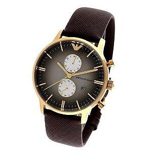 Relógio Masculino Emporio Armani AR1755 Couro
