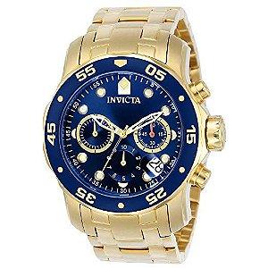 Relógio Masculino Invicta Pro Diver 21923 Dourado