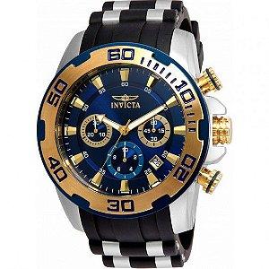 Relógio Masculino Invicta Pro Diver  22339 Ouro 18K