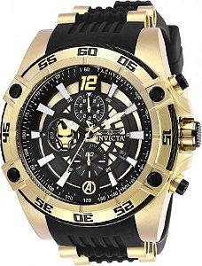 Relógio Masculino Invicta Marvel 26797 Preto