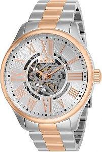 Relógio Masculino Invicta Angel 27558 Prata e Rose