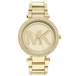 Relógio Feminino Michael Kors MK5784 Dourado Cravejado