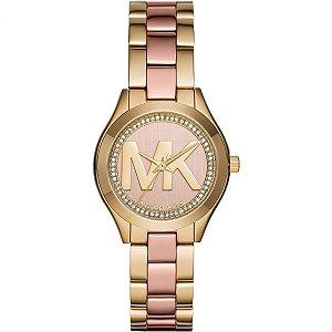 Relógio Feminino Michael Kors Mk3650 Dourado