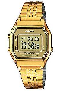 Relógio Unissex Casio Vintage LA-680WGA-9D Dourado