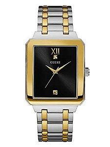 Relógio Masculino aço inoxidável HIGHRISE Guess W0917G3 preto
