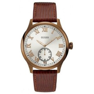 Relógio Masculino Cambridge Analógico Guess W1075G3 Couro