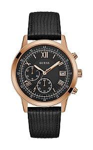 Relógio Masculino Guess W1000G4 Couro
